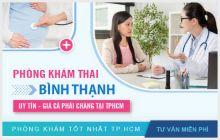 Danh sách phòng khám thai Quận Bình Thạnh tốt nhất