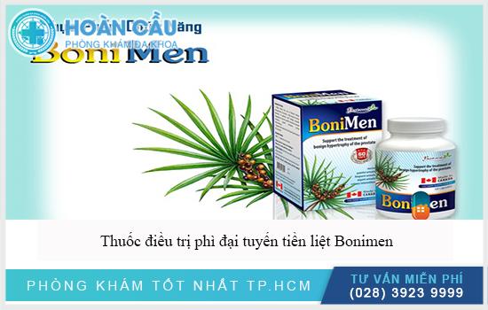Thuốc điều trị phì đại tuyến tiền liệt Bonimen