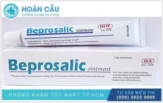 Beprosalic là dạng thuốc bôi, có thành phần chính là Betamethasone Diproionate