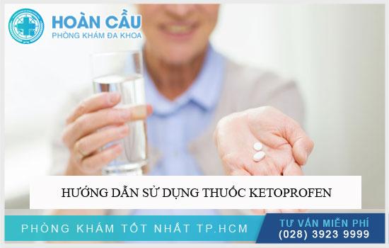 Hướng dẫn sử dụng thuốc Ketoprofen
