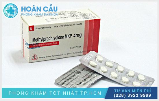 Thuốc Methylprednisolon có tác dụng ức chế hệ miễn dịch và giảm viêm