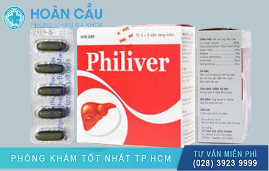Tổng quan thông tin về thuốc Philiver