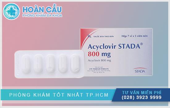 Acyclovir Stada 800mg