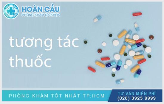 Albis có thể tương tác với các loại thuốc khác khi dùng cùng lúc