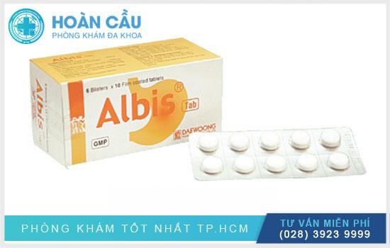Albis được sử dụng để điều trị các vấn đề về đến đường tiêu hóa