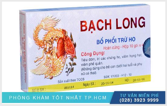 Thuốc Bạch Long với tác dụng trị ho, bổ phổi từ đa khoa hoàn cầu tư vấn