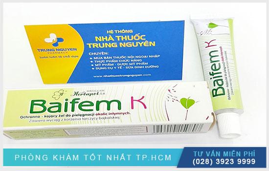 Baifem K Herbapol 15G: Thuốc kháng viêm, kháng nấm, dị ứng hiệu quả
