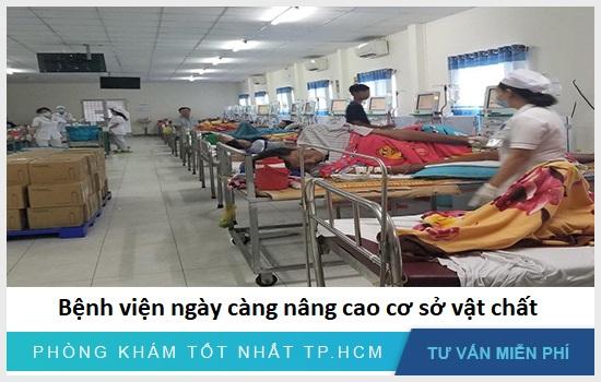 Bệnh viện ngày càng nâng cao cơ sở vật chất