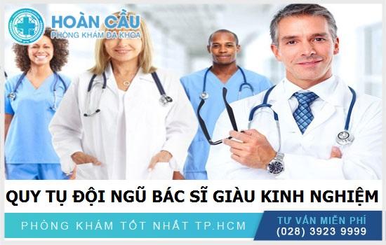 Tập thể bác sĩ giỏi – giàu kinh nghiệm – hết lòng vì bệnh nhân
