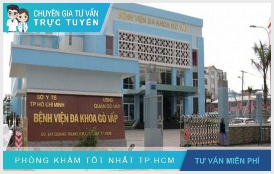 Bệnh viện Quận Gò Vấp – cơ sở Số 641 Quang Trung