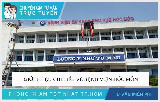 Giới thiệu chi tiết về Bệnh viện Hóc Môn