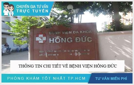 Thông tin chi tiết về Bệnh viện Hồng Đức