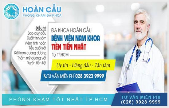 Địa chỉ khám chữa bệnh sa tinh hoàn uy tín TPHCM