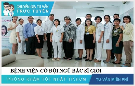 Bệnh viện có đội ngũ y bác sĩ giỏi, tận tâm