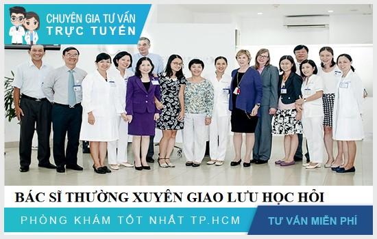 Bệnh viện là cơ sở uy tín để bệnh nhân an tâm chọn lựa