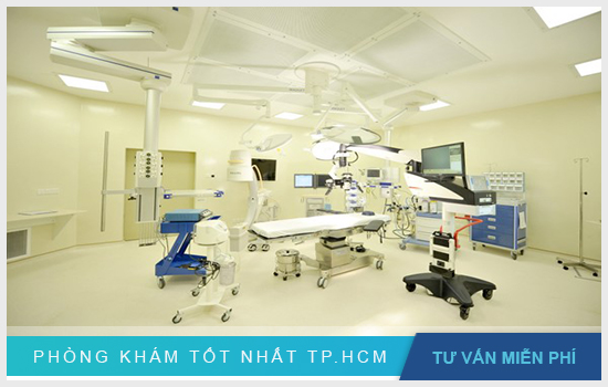 Bệnh viện có trang thiết bị máy móc hiện đại