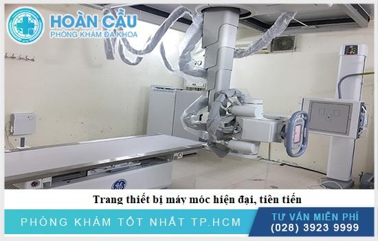 Bệnh viện có trang thiết bị tiên tiến hiện đại