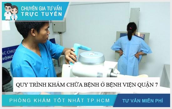 Quy trình khám chữa bệnh ở Bệnh viện Quận 7