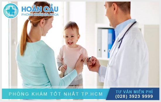 Khoa Nhi chuyên khám và điều trị bệnh ở trẻ nhỏ
