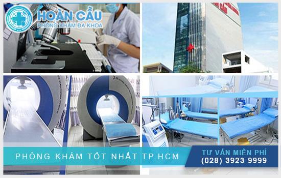 Phòng khám được trang bị thiết bị y khoa hiện đại