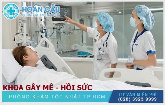 Chuyên khoa Gây mê hồi sức Bệnh viện Việt Pháp