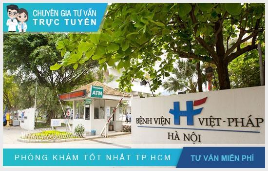 Bệnh viện Việt Pháp Hà Nội là bệnh viện quốc tế đầu tiên ở TP Hà Nội