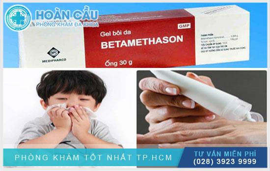 Betamethason có thể dùng cho người lớn và trẻ từ 6 – 12 tuổi