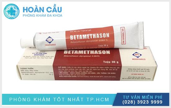 Thuốc Betamethason dạng gel 30g là thuốc bôi ngoài da