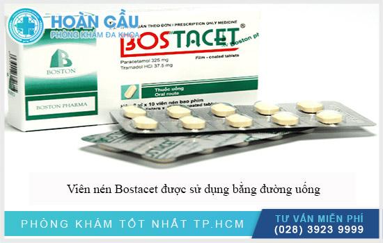 Bostacet là loại thuốc gì và lưu ý khi dùng
