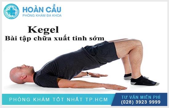 Bài tập Kegel là phương pháp chữa xuất tinh sớm được nhiều nam giới áp dụng thành công
