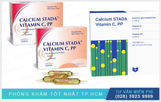 Calcium 10Ml Stada: Thuốc bổ sung canxi cho người loãng xương