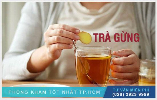 Nên uống trà gừng vào ngày hành kinh