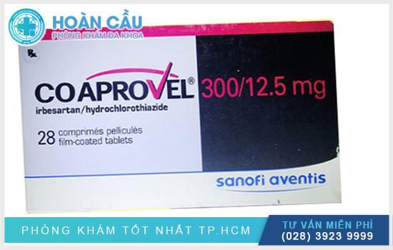 Coaprovel 300/12,5 có tên thuốc gốc Irbesartan