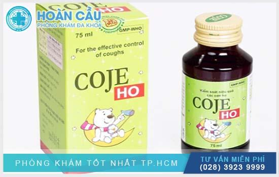 Coje Ho 75Ml có tên thuốc gốc là Dextromethorphan