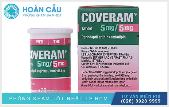 Coveram 5Mg: Công dụng thuốc và cách sử dụng