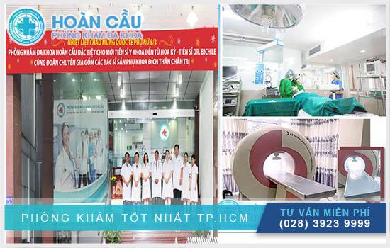 Phòng khám Hoàn Cầu được đông đảo bệnh nhân đánh giá cao