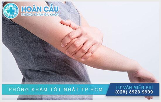 Có nhiều nguyên nhân gây đau nhức cánh tay