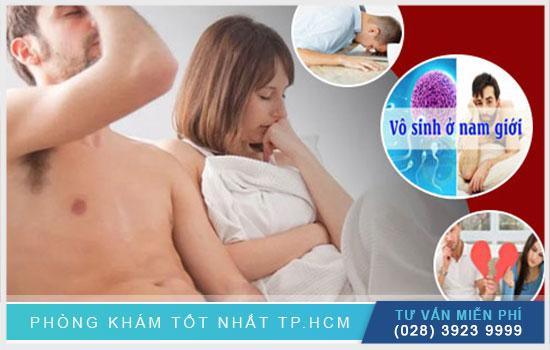 Top 4 nơi điều trị xuất tinh sớm ở TPHCM uy tín
