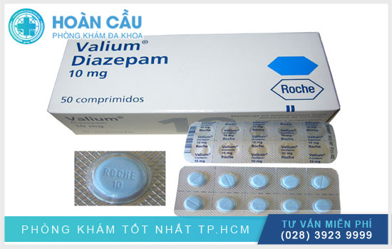 Thuốc Diazepam được sử dụng để điều trị tình trạng mất cân bằng não bộ