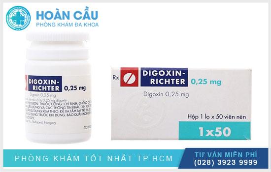 Thuốc Digoxin được sử dụng trong điều trị các bệnh tim mạch