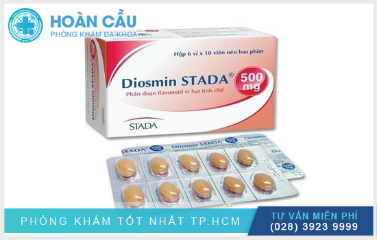Diosmin Stada 500mg hỗ trợ điều trị các bệnh tim mạch