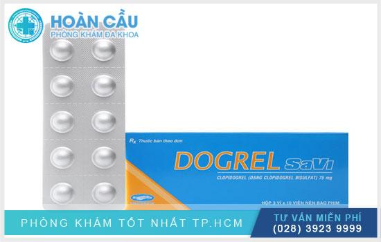 Thuốc Dogrel Savi thuộc nhóm thuốc điều trị tim mạch