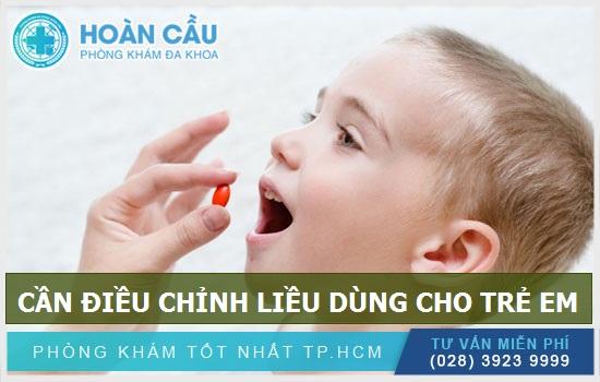 Cần điều chỉnh liều dùng của thuốc Enalapril cho trẻ em