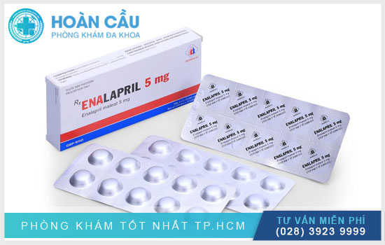 Thuốc Enalapril sử dụng để điều trị các bệnh liên quan đến tim mạch