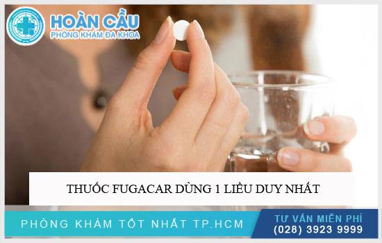 Thuốc Fugacar mebendazole chỉ dùng 1 liều duy nhất