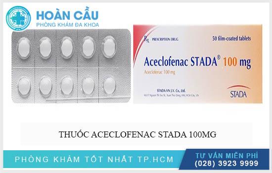 Thuốc Aceclofenac Stada® 100 Mg