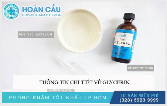 Thông tin chi tiết về Glycerin