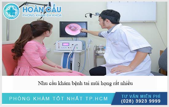 Nhu cầu tìm phòng khám tai mũi họng rất nhiều