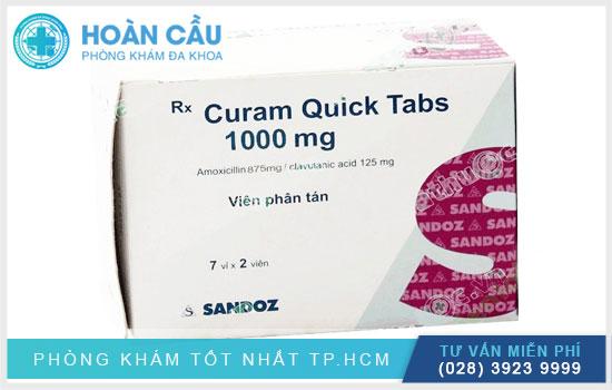 Hướng dẫn sử dụng thuốc Curam Quick 1000Mg