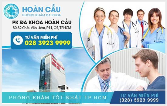 Đa Khoa Hoàn Cầu là địa chỉ khám điều trị bệnh nam khoa hiệu quả